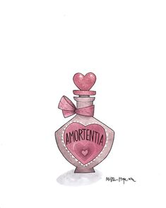 Potions for days. #Amortentia #HarryPotter