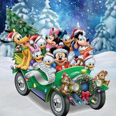 Christmas - Disney - Mickey Mouse & Friends                                                                                                                                                                                 Más