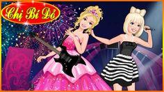 ♥ Trò chơi Barbie & Ken ♥ Chị bí đỏ chọn trang phục cho Barbie theo Styl...