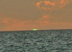 Green flash sunsets are rare, only occurring when environmental factors are just right. This reader reports seeing one in Anguilla.