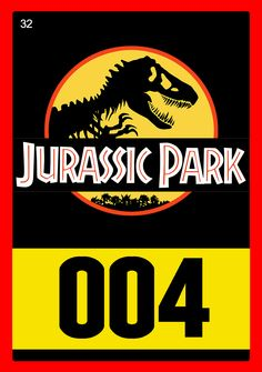 Jurassic Park Cards - 32/32 Birthday Party At Park, Dinosaur Birthday Party, 5th Birthday, Fashion Kids, Jurassic World 3, Jurassic Park Party, Security Badge, Jeep, Lion