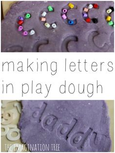 We used play dough and wooden letters to make some letter impressions! A great way to incorporate some playful literacy through letter recognition, sensory alphabet learning and most importantly, FUN! I found some gorgeous lower case wooden letters in a craft shop for only £1.99 and have so many fun things planned for them! The...Read More »