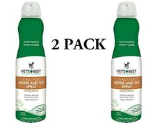 Vet's Best Flea   Tick Home and Go Spray, 6.3 oz. ** Continue to the product at the image link. (This is an affiliate link and I receive a commission for the sales)