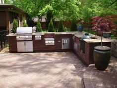 modern outdoor kitchen 36 inch table 37 best sinks ice bins coolers images bbq guys 47 designs and ideas