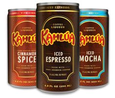 Kahlua Introduces Cans-To-Go With Three New Flavors Including Cinnamon Spice