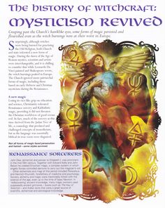Book of Shadows:  #BOS The History of Witchcraft ~ Mysticism Revived.