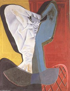 Arlequin, huile sur toile de Salvador Dali (1904-1989, Spain)