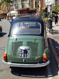 Fiat 500 In Sorrento