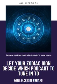 Podcasts you should listen to--according to your Zodiac sign! Capricorn, Zodiac Signs, Astrology, Let It Be, Zodiac Constellations, Horoscopes, Capricorn Sign