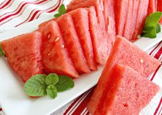 How to Cut a Watermelon into Triangles - Mom 4 Real Cut Watermelon, Game Changer, Triangles, Food Ideas, Salads, Household, Favorite Recipes, Snacks, Times