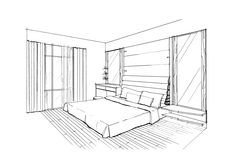 Perspective Drawing - Bedrooms - HOPPMUCH ID.RENOBUILD PTE LTD