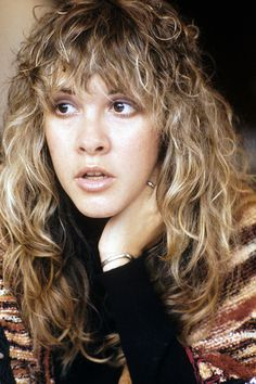 Stevie Nicks of Fleetwood Mac, At a time when you needed talent. It didn't matter what your boobs, butt, or eyebrows looked liked. So glad I grew up in an era of authenticity. Talent trumped everything! Be an artists. Don't ever change who you are. Buckingham Nicks, Stephanie Lynn, Stevie Nicks Fleetwood Mac, Women Of Rock, Dream Hair, Hair Inspo, Role Models, My Hair, Curly Hair Styles