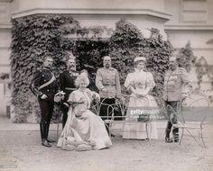 Crown Prince Ferdinand of Romania, King Carol I of Romania, Queen. Princess Victoria, Queen Victoria, Sissi, Romanian Royal Family, King Of Jerusalem, Franz Josef I, Christian Ix, Princess Alexandra, Rich Image