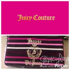 Juicy CoutureLaptop Velour Bag  Juicy CoutureLaptop Velour Bag•EUC • soft velour • stylishTRADEDONT ASK WILL BE BLOCKED & REPORTED Juicy Couture Bags Laptop Bags