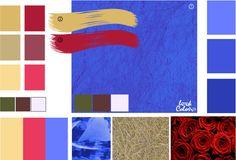 Сине-фиолетовый цвет |Сочетание цветов