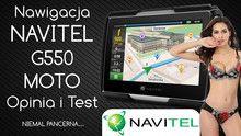Nawigacja Navitel G550 MOTO – Opinia i Test