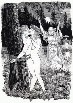 The Slavs also had a lot of rituals and holidays, when men and women bathed together naked. One of them was dedicated to the goddess of fertility, and patroness of marriage Lada. Later that day became known among the people as the day of Ivan Kupala. On this day, reigned full sexual expanse.
