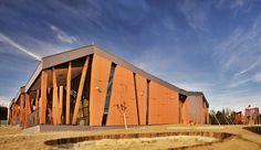superform inaugurates the kindergarten cerkvenjak in slovenia - designboom | architecture