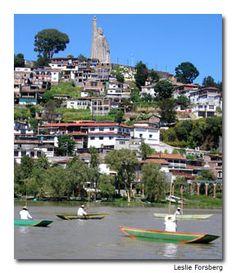 Isla Janitzio y Lago Patzcuaro, Michoacan, Mexico