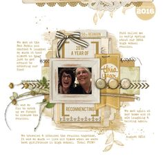 2016 A Year of Reconnection - Dec. Story Challenge - Studio DoubleD | Layer Works No 288   Katie Pertiet | DEC 16 Story freebie   Font | Bebas, My Underwood