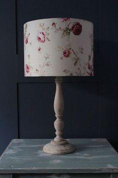 Vintage Floral Cream Lampshade