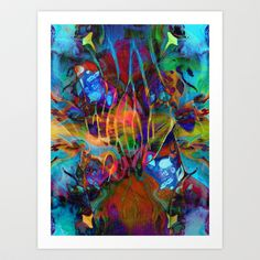Soul Cleanser Art Print by Work the Angle - $17.00