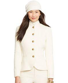 Lauren Ralph Lauren Peplum Military Jacket