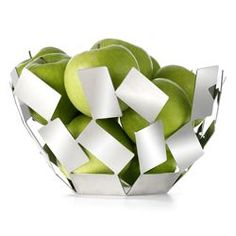 Alessi fruit bowls and baskets on pinterest - Alessi fruit bowl ...