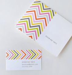 NEW  Chevron Design  modern graphic personal or by AlmostSundayInc, $25.00