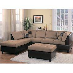 Homelegance Comfort Living Sectional Sofa