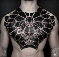 Neue Tattoos, 3d Tattoos, Body Art Tattoos, Girl Tattoos, Tattoos For Guys, Sleeve Tattoos, Tattoos For Women, Chest Piece Tattoos, Chest Tattoo