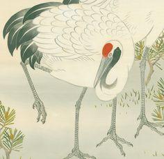 detail of fukusa, Mid-to late Meiji (1880-1911). Yorke Antique Textiles