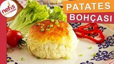 ŞAŞIRTICI LEZZET Tavuklu Patates Bohçası - YouTube Baked Potato, Cheese, Baking, Ethnic Recipes, Food, Youtube, Patisserie, Bakken, Hoods
