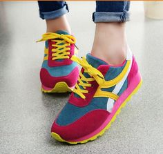 2015 New Women Sneakers Women's Sport Shoes Casual Breathable And Massage Woman Zapatos Mujer Running Shoes Platform Sneakers - http://www.freshinstyle.com/products/2015-new-women-sneakers-womens-sport-shoes-casual-breathable-and-massage-woman-zapatos-mujer-running-shoes-platform-sneakers/