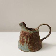 Nobue Ibaraki small aqua pitcher