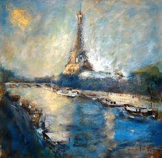 Printemps à Paris - Javier Montesol