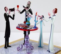 "MURANO GLASS GROUP ""SABBATH""."