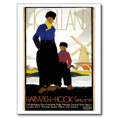 Items similar to Vintage Poster of Holland Netherlands 1920 Tourism poster travel on Etsy Holland Netherlands, Vintage Travel Posters, Retro Posters, Delft, Artist Canvas, Canvas Art, Illustrations, Amsterdam, Travel Photos