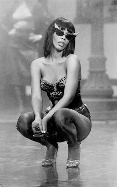 "leftyrosenthal: "" grapnel: "" Donna Summer in a still from the ""Bad Girls"" video - ca. 1979. "" baddie """