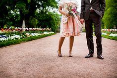 Handgemächtes Dirndl unikat für Hochzeit