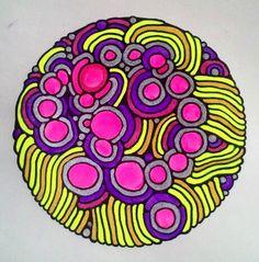 mandala, my artwork