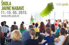 Škola javne nabave - specijalistički program edukacije u svrhu dobivanja certifikata iz javne nabave: 11.-15.05.2015. http://www.info-puls.hr/Trening/Specijalistiki-program-izobrazbe-u-podruju-javne-nabave_91