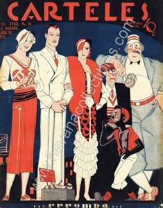 Cuba Art Deco Carteles Magazine April 1932 - Havana Collectibles      www.havanacollectibles.com