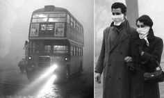 Pea souper that killed 12,000: So black you couldn't see the screen in cinemas. So suffocatingly lethal they ran out of coffins. How the Great Smog choked London 60 years ago this week