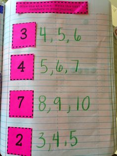 Kinder Interactive Math JournalsYou can find Math journals and more on our website. Preschool Learning Activities, Homeschool Kindergarten, Preschool Classroom, Teaching Math, Math Math, Math Games, Homeschooling, Interactive Math Journals, Math Notebooks