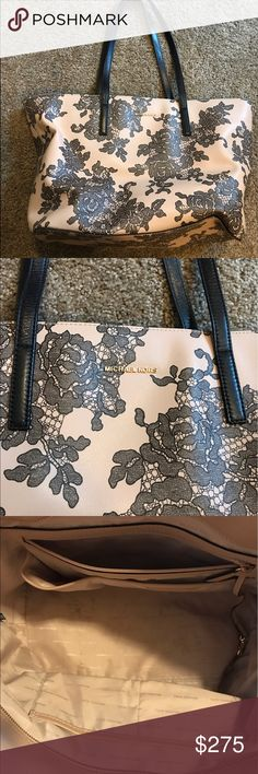 TAKING REASONABLE OFFERS I got this as a gift. Gently used condition. Inside has small spots, might just need to be wiped clean. Retails almost $400 and I don't think they make this style anymore. 100% authentic!! Michael Kors Bags Totes