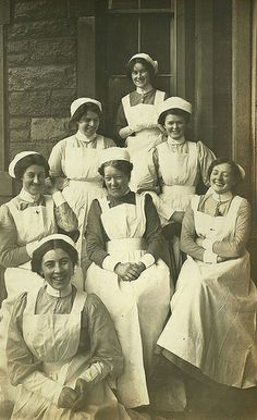 Happy Nurses | Edwardian-era mirth