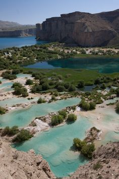 touchdisky:  by jankech philippe  Band e Amir National Park, Afghanistan