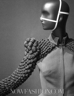Clarisse Heiraix Couture F/W 2012 detail