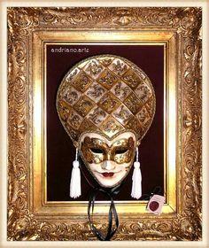 La Donna oro e argento ! andriano.arte handmade